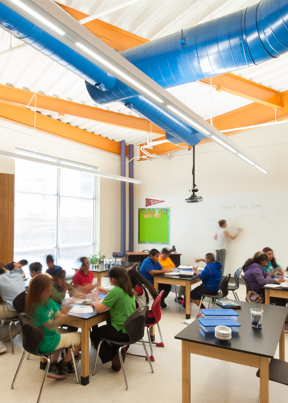 How Does the Push for STEM Effect Classroom Design -