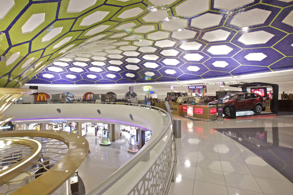 Auh terminal 1 refurbishment corgan for International decor company abu dhabi