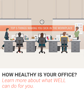 How Healthy is Your Office? Learn more about what WELL can do for you.